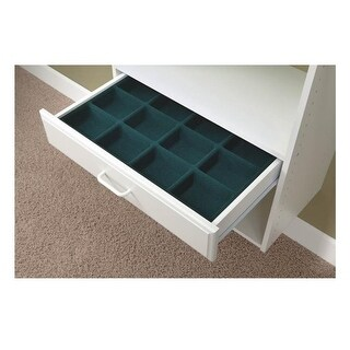 "Easy Track RJ2403 Jewelry or Hosiery Tray, 4"" Drawer"
