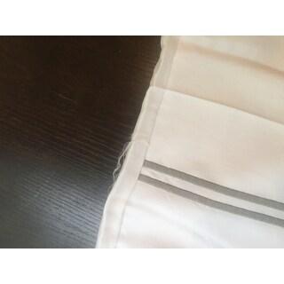 Amrapur Overseas Cotton Blend 3-Piece Double Marrowing Duvet Set