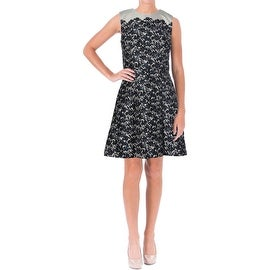 Tory Burch Womens Lined Pleated Wear to Work Dress - 4