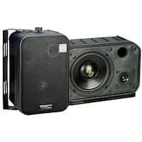 6.5'' Two-Way Bass Reflex Mini-Monitor System & Bookshelf/wall mount Speakers