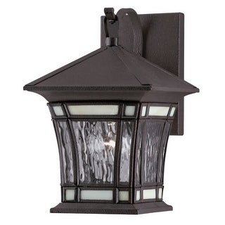 "Westinghouse 6486400 11"" Tall 1 Light Outdoor Lantern Wall Sconce from the River"