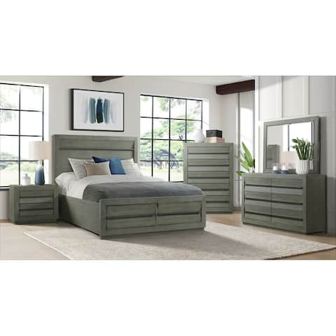 Picket House Furnishings Cosmo 5-Drawer Chest in Grey