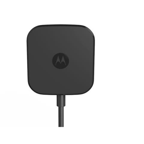 Motorola TurboPower 15 TYPE C (Round Cable) Fast Charger SP5913A Bulk Pack - Black