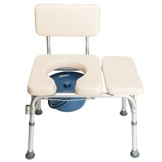 "Link to 35""Elder People Disabled People Commode Chair Bath Chair - White -  35"" Similar Items in Daily Living Aids"