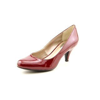 Alfani Denny Women Round Toe Synthetic Red Heels