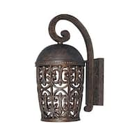 Designers Fountain 97592 Single Light Down Lighting Outdoor Wall Lantern from the Dark Sky Amherst Collection