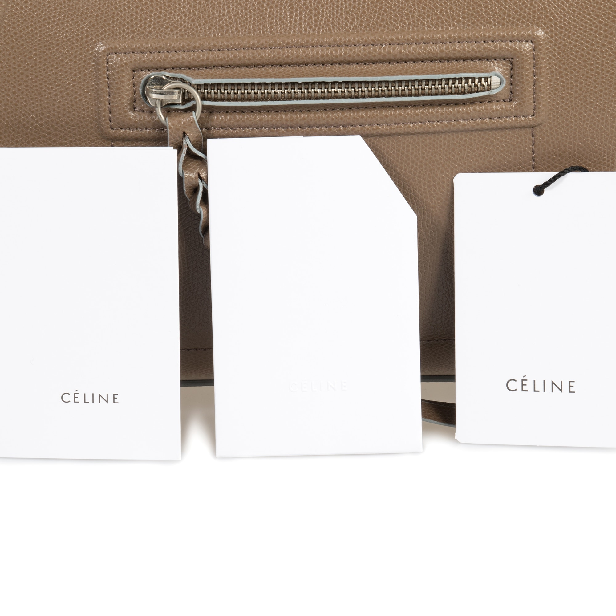 b286383929c0 Shop Celine Medium Luggage Phantom Bag In Taupe Baby Grained Calfskin  Leather - Free Shipping Today - Overstock.com - 23079574