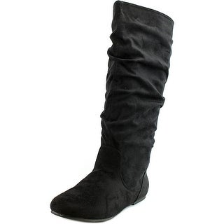 Wanted Toucan Women  Round Toe Synthetic Black Knee High Boot