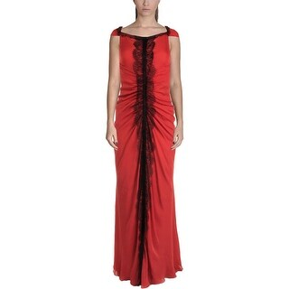 J. Mendel Womens Evening Dress Silk Prom - 0