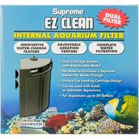Supreme Ez Clean Internal Aquarium Filter-Dual Cartridge