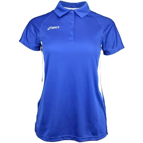 Asics Womens Corp Golf Athletic Polo