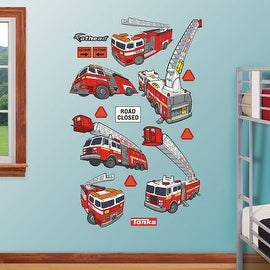Tonka Fire Truck Collection REALBIG Wall Decal