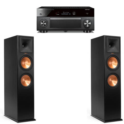 Klipsch RP-280FA Pair - with Yamaha RX-A3080 Receiver