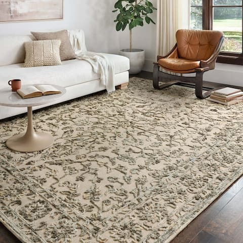 Alexander Home Diana 100% Wool Hand Hooked Area Rug