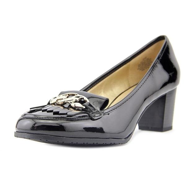 Bandolino 7 Tulisa Women Round Toe Synthetic Black Heels