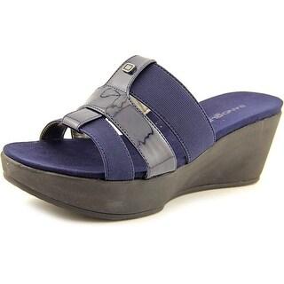 Bandolino Doveva Women Open Toe Synthetic Slides Sandal