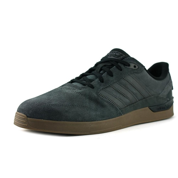 hot sale online a2a5c 9d823 Shop Adidas Zx Vulc Men Round Toe Suede Gray Sneakers - Free ...