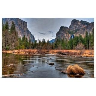 """Yosemite February, California"" Poster Print"