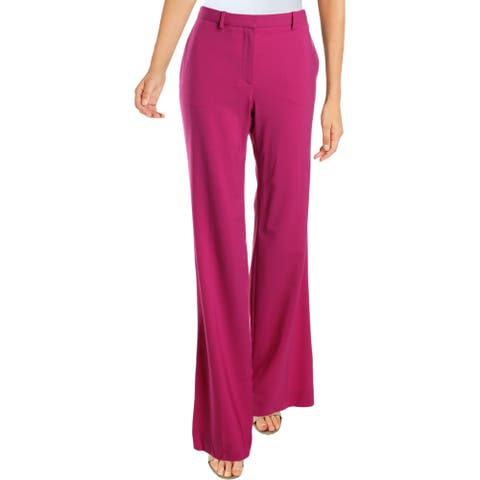 Theory Womens Demitria 2 Pants Classic Flared
