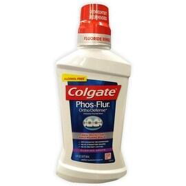 Colgate Phos-Flur Anti-Cavity Fluoride Rinse Gushing Grape 16 oz