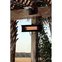 Fire Sense 60460 Mojave Sun Black Steel Wall Mounted Infrared Patio Heater
