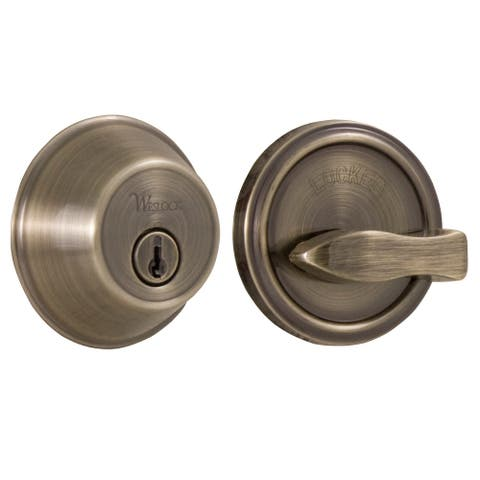 Weslock 371 Single Cylinder Deadbolt from the Essentials Collection