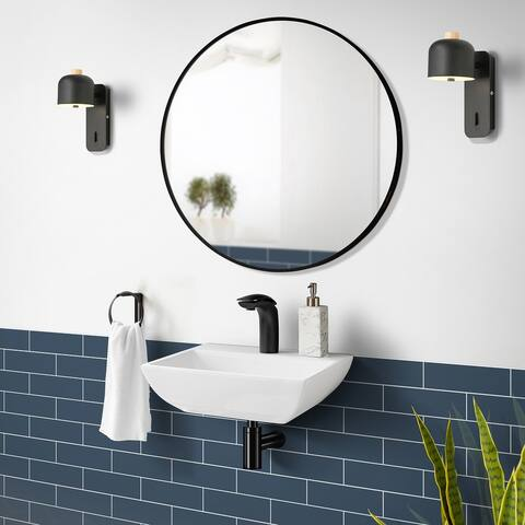 Sublime Compact Ceramic Wall Hung Sink