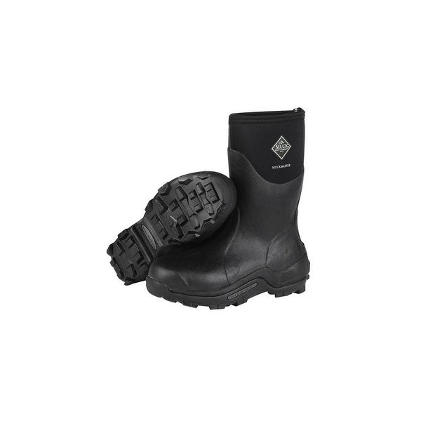 0e6dc6ad19c6 Shop Muck Boot s Unisex Muckmaster Mid Black Boots - Size 15 - Free  Shipping Today - Overstock - 15163898