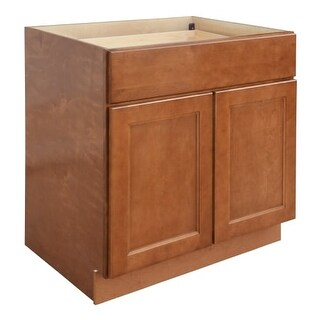 "Ellisen 33"" Double Door Base Cabinet with Dovetail Drawer and Full Extension Soft Close Slides"
