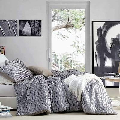 Intoxicated - Coma Inducer® Oversized Comforter - Velvety Gray