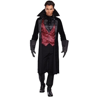 Dreamgirl Bloody Handsome Adult Costume - Black/Red