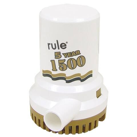 "Rule 1500 G.P.H. ""Gold Series"" Bilge Pump - 04"