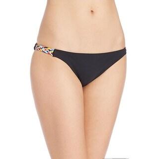 Red Carter Womens Braided Bikini Swim Bottom Separates