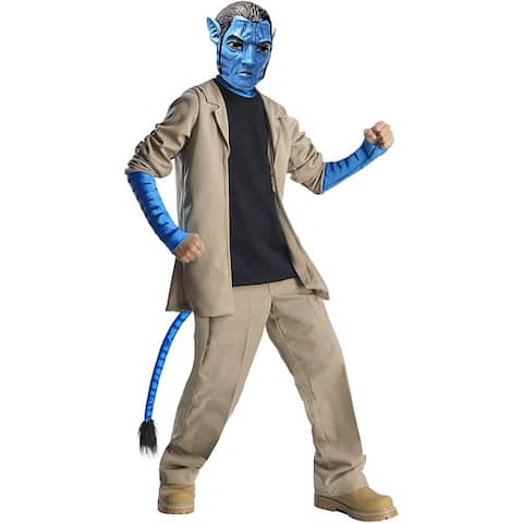 Avatar Jake Sully Costume Delue Child - Beige