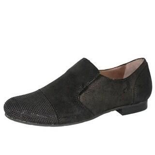 OTBT Womens Union Springs Leather Textured Loafers - 7 medium (b,m)