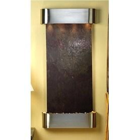 Adagio Cascade Springs Wall Fountain Rajah FeatherStone Stainless Steel - CSR201