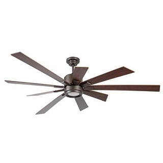 "Craftmade KAT729 Katana 72"" 9 Blade DC Motor Indoor Ceiling Fans with Light Kit Included"