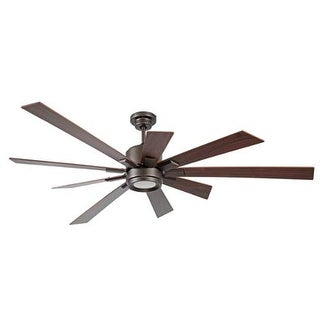 "Craftmade KAT729 Katana 72"" 9 Blade Ceiling Fan - Blades, Remote and LED Light Kit Included"