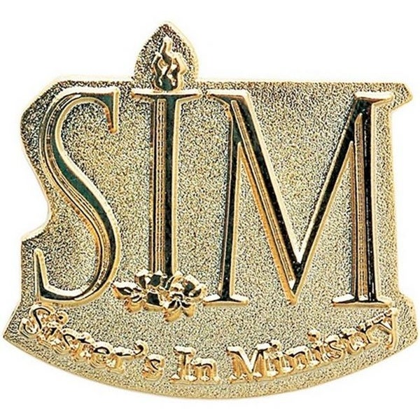 Simba 1.125 in. Power Stamped Lapel Pin in Iron - Pack of 300