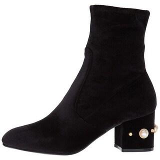 Ivanka Trump Womens Previ Closed Toe Mid-Calf Fashion Boots