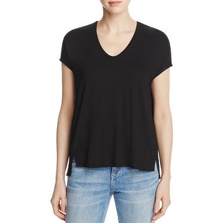 Eileen Fisher Womens Pullover Top Pullover Side Slit
