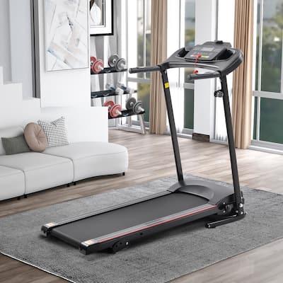 TiramisuBest Folding Electric Treadmill Running Machine