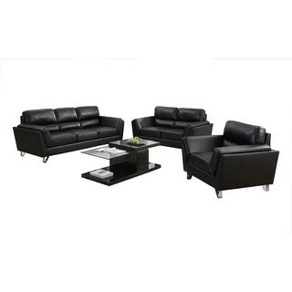 Monarch Specialties Bonded leather sofa I Bonded Leather Sofa