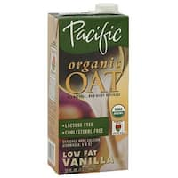 Pacific Natural Foods Oat Vanilla - Non Dairy - Case of 12 - 32 Fl oz.