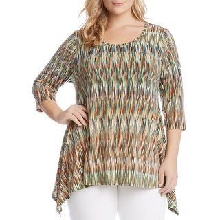 Grace Elements Women 39 S Uneven Hem Pullover Top Free Shipping On Orders Over 45 Overstock
