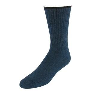 Windsor Collection Men's Non Binding Moisture Wicking Dress Socks - One size