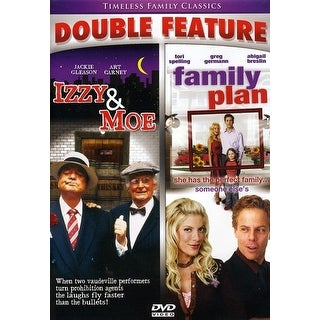 Izzy & Moe/Family Plan Double Feature [DVD]
