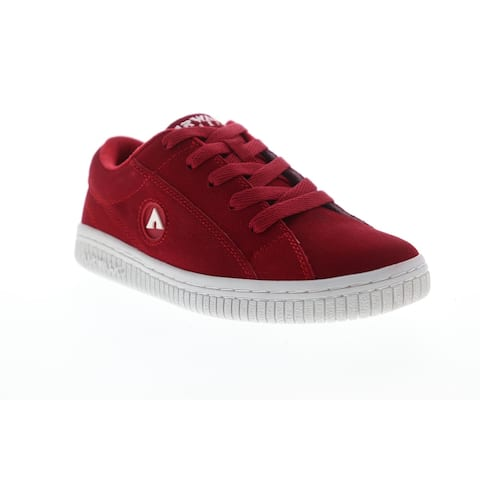 Airwalk Bloc Red Red Womens Athletic Skate Shoes