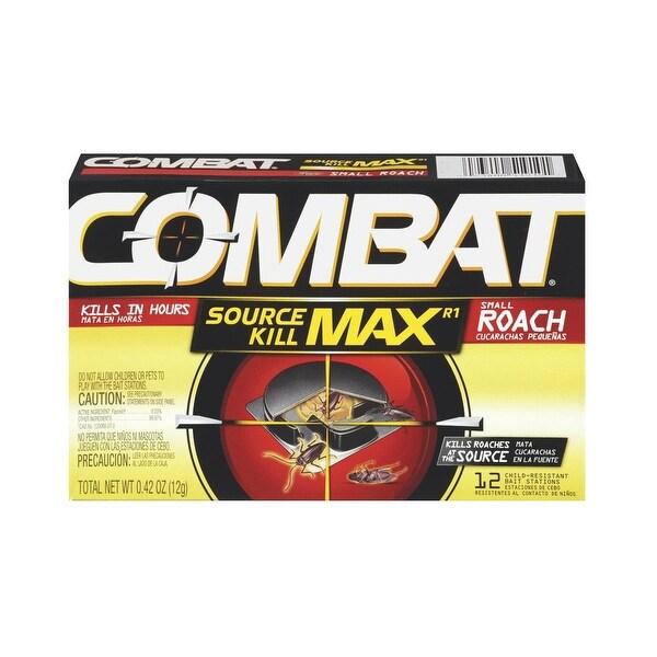 Combat 12Pk Sm Combat Roach Trp