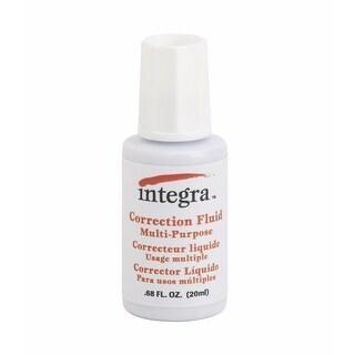 Integra 1071818 Multi-Purpose Correction Fluid, White